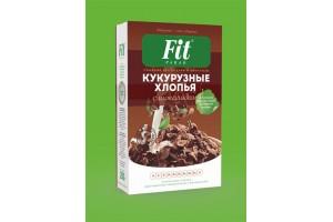 "Кукурузные хлопья (шоколад) со стевией ""ФитПарад"""