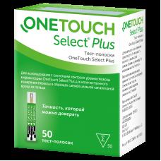Тест-полоски Ван Тач Селект Плюс (OneTouch Select Plus) N100
