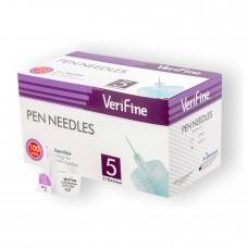 Иглы Verifine для инсулиновых шприц-ручек 0,25 (31G) x 5 мм
