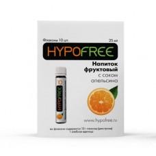 Напиток фруктовый с соком апельсина  Hypofree, 1ХЕ в фл., 1 шт.