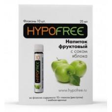 Напиток фруктовый с соком яблока,HYPOFREE 10,1шт.