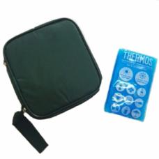Термо-сумка на молнии(1 гель в комплекте)
