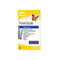 Тест-полоски FreeStale Optium(глюкоза в крови)№50