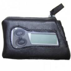 Чехол кожаный чёрный для ношения дозатора инсулинового